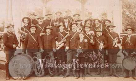 Early 1900s band photos street photography
