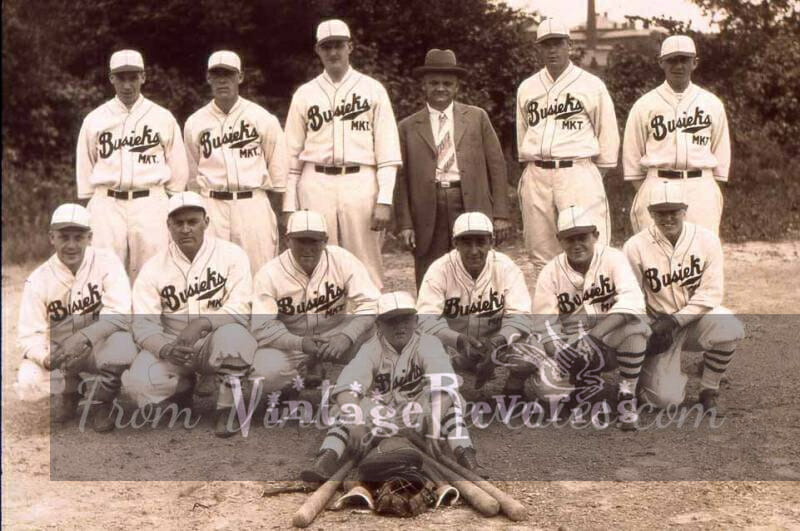 Busieks Baseball team picture early 30s