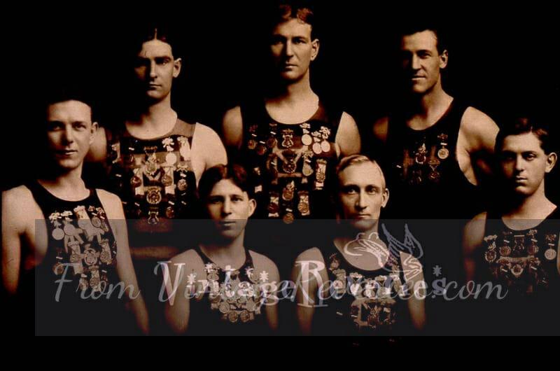 1911 rowing team photo