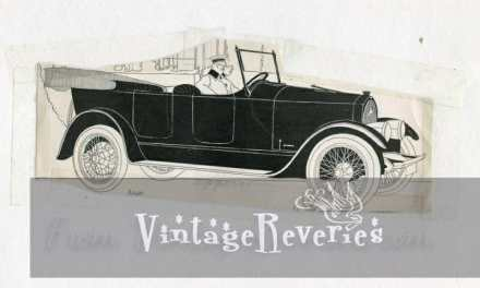 Vintage car advertisements: Apperson, Chandler, Buick, and Caddillac