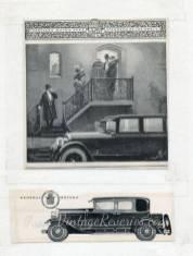 1920s Cadillac advertisement