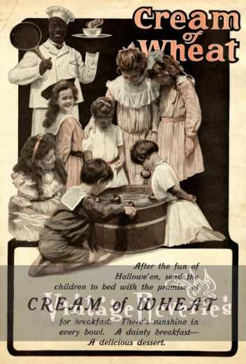 cream of wheat Halloween ad
