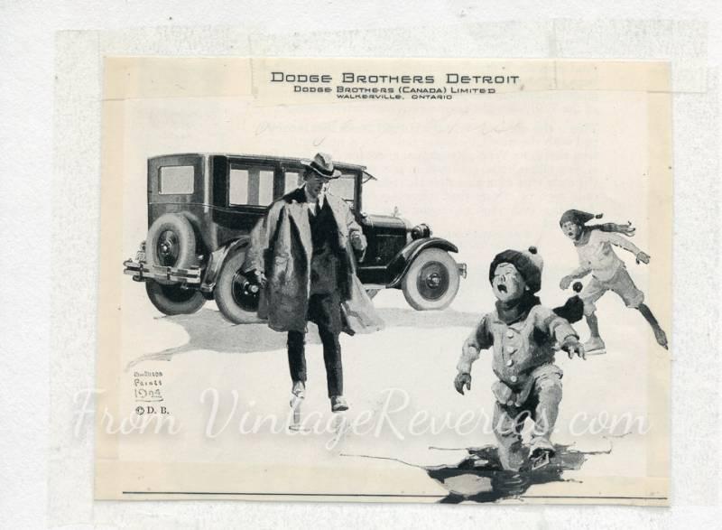Old Dodge Automobile Ads