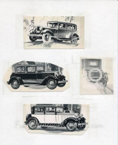 1920s automobile ads