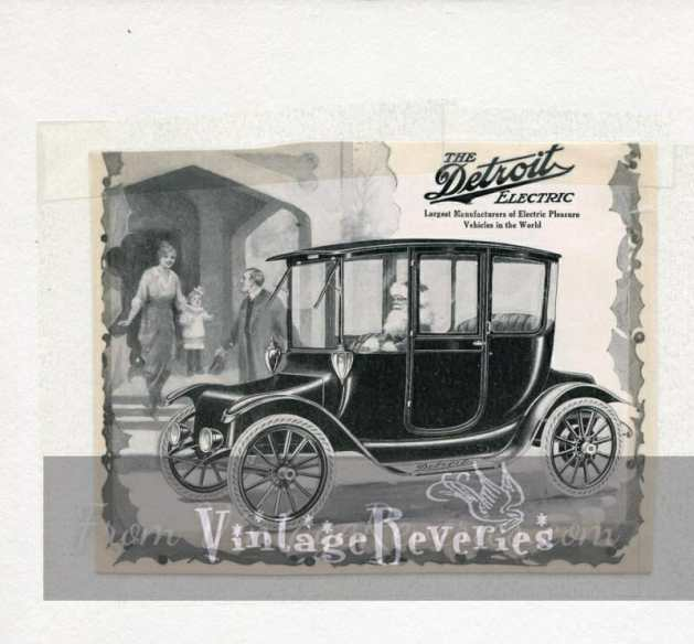 Detroit Electric car ad