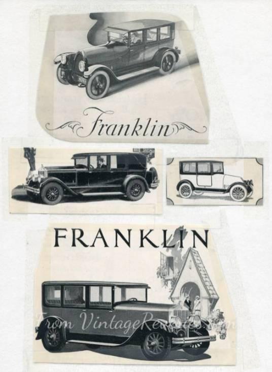 franklin car ads