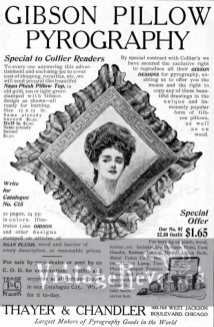 gibson pyography advertisement