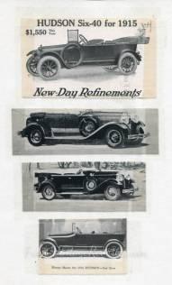 Hudson car advertisement
