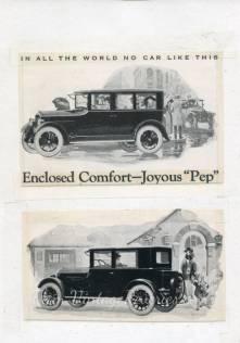 Jewett car ad
