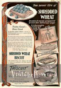 old shredded wheat advertisement