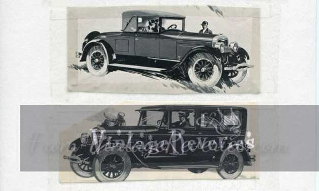 1920s Lincoln Automobile Ads