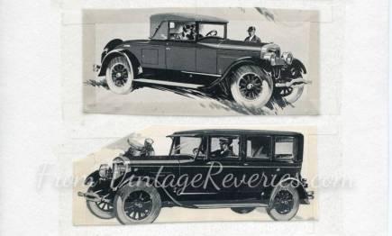 1920s lincoln automobile ad