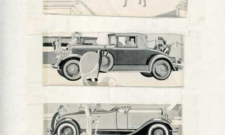 1920s Studebaker, Rauch & Lang, Pierce-Arrow, and Reo motor car advertisements