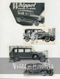willys knight whippet ad