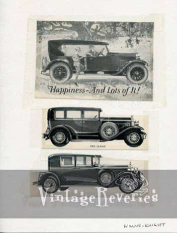 willys knight auto ad