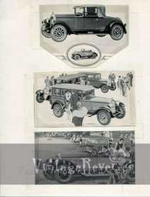 1920s Willys Knight auto ad