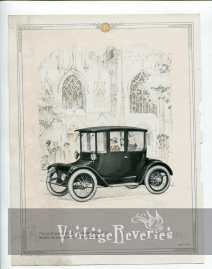 turn of the century electric car advertisement