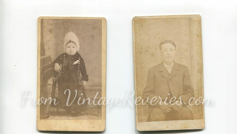 1800s children