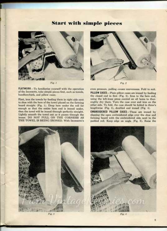 ironrite ironing instructions