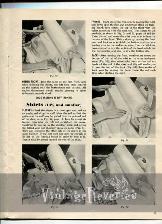 using an ironing machine