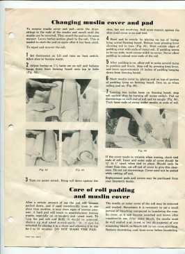 machine iron care