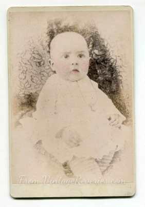 1800s baby photo