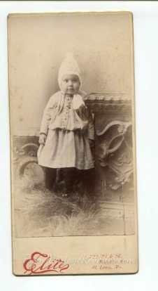 1800s st louis toddler photo