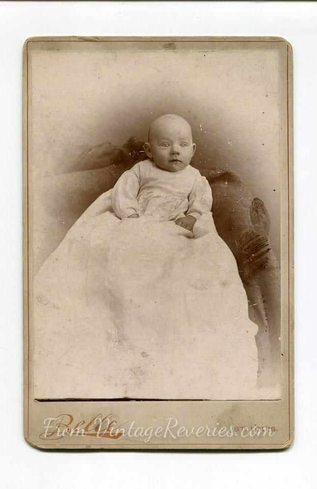 spooky 1800s baby