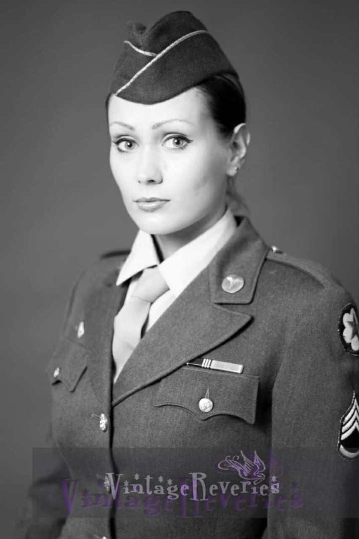 WAC Portrait - 1940s styling