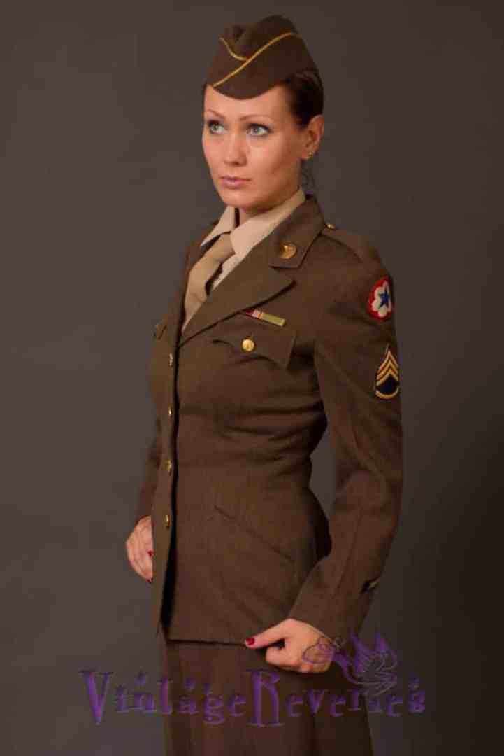 1940s WAC uniform photos