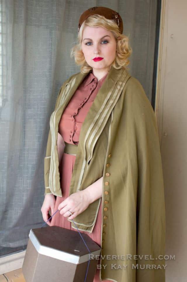 1930s cape