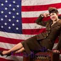 WWII WAC Uniform on Zizi