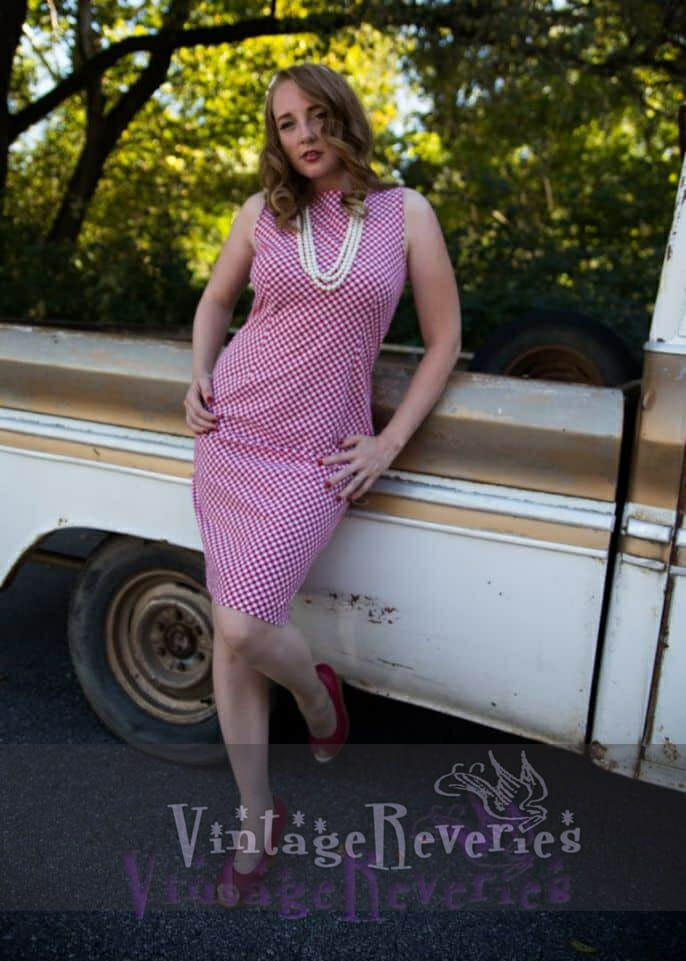 Country retro pinup