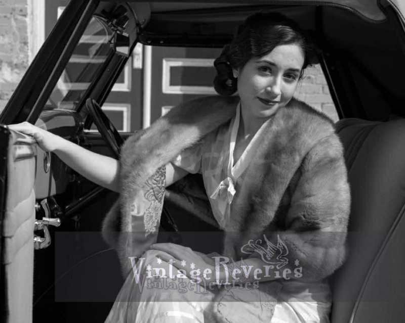 1930s styled photo