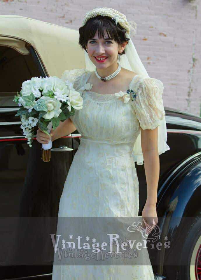 1930s style bridal