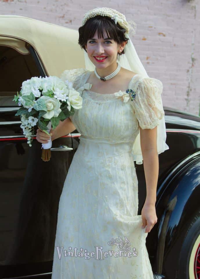 1930s Wedding Re-Creation (an attempt)