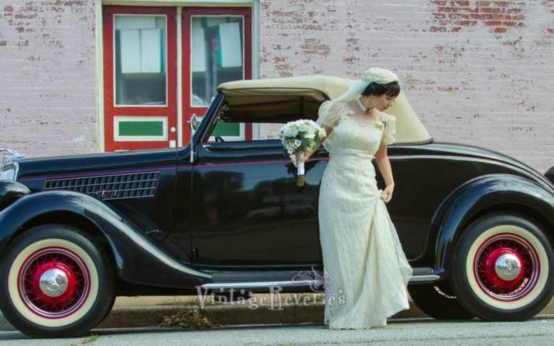 1930s style wedding