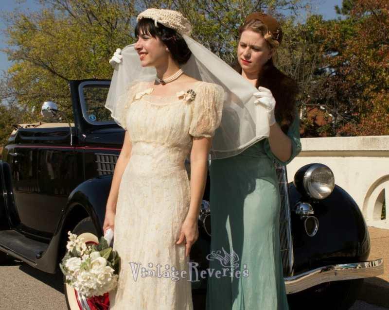 1930s styled wedding