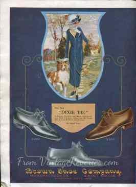 St. Louis fashion show 1920s