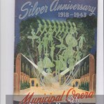 Silver Anniversary of the St. Louis Municipal Opera – 1943 Season Program