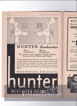 Hunter Packing East St. Louis Illinois ad