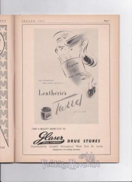 1940s glaser drug store ad