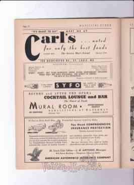 1940s St. Louis business advertisements