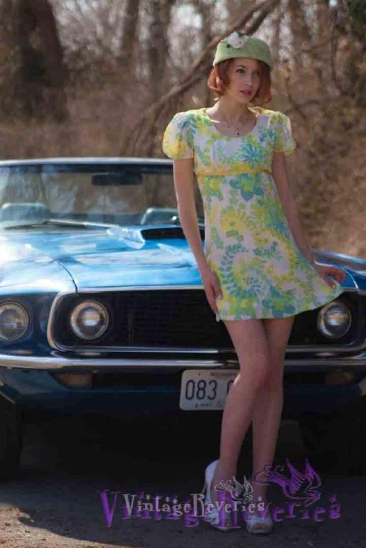 1960s mustang car