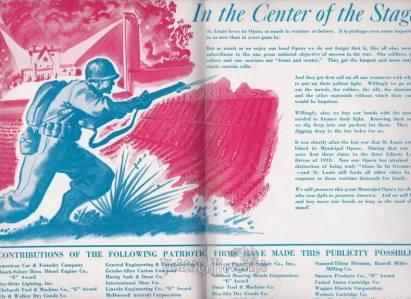 Patriotic WWII Theater Ad