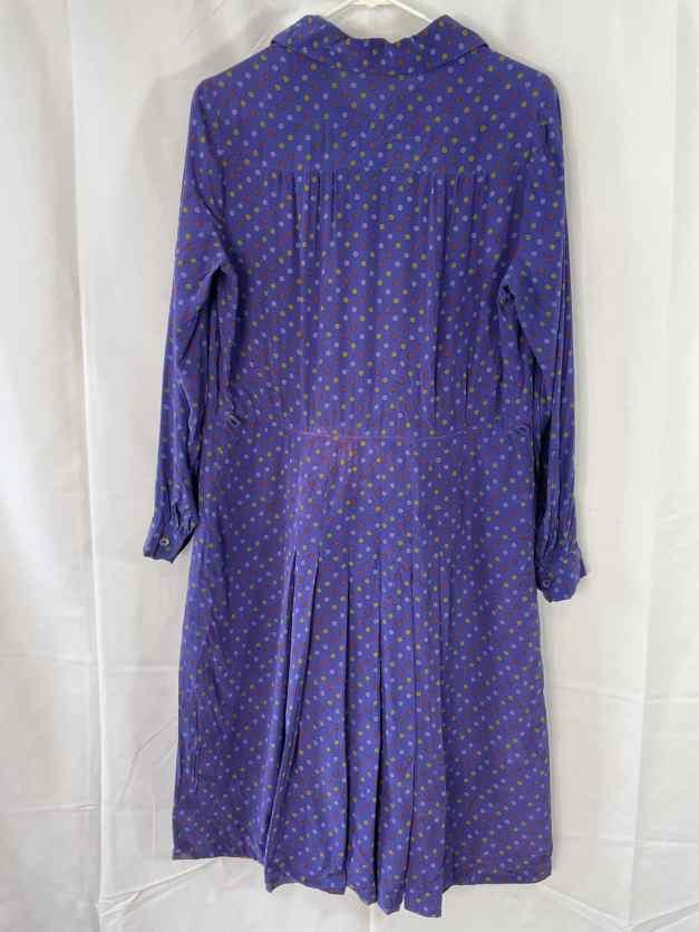 Rare large 30s silk dress for sale