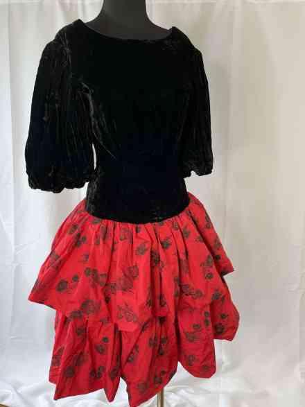 80s prom dress