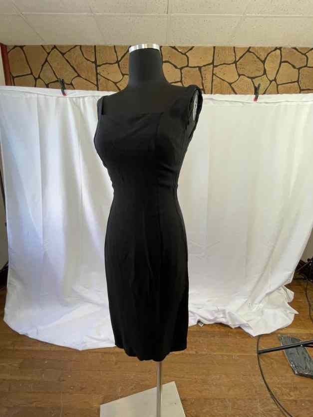 Sexy little black dress vintage 1950s dress