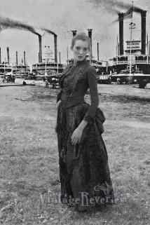 1880s steamboat photo