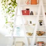 Diy Ladder Shelves Vintage Revivals